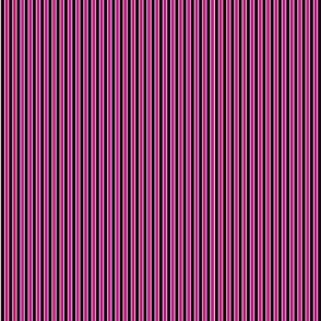 Black Pink Twinkle Pinstripe