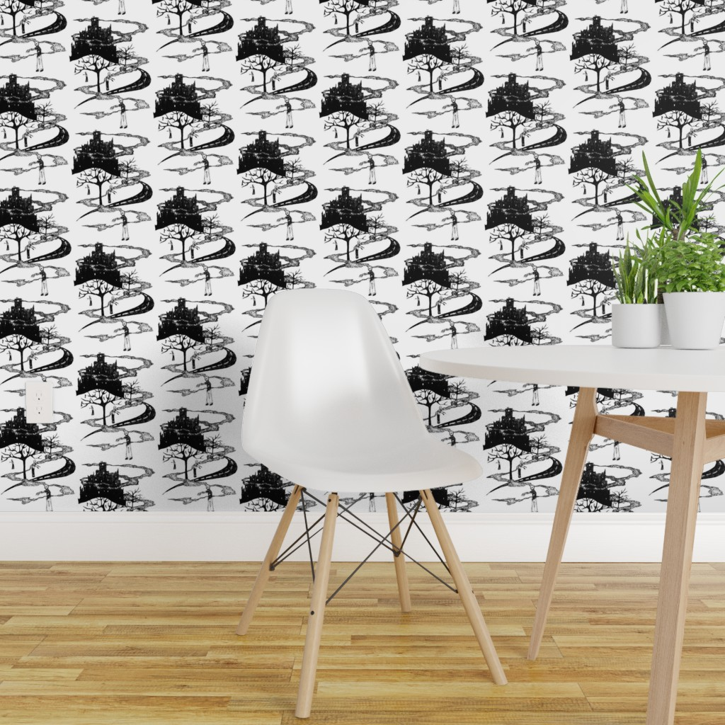 Zombie Apocalypse Toile on Isobar by art_rat | Roostery Home ... on zombie apocalypse interior design, zombie apocalypse graphic design, panic room design,
