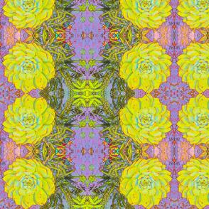 Green cactus # 2 Art Nouveau