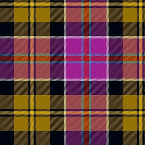 "Culloden gold/purple tartan, 6"""