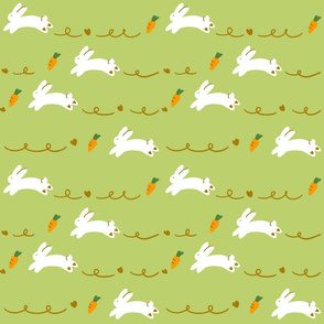 rabbits-yellow green