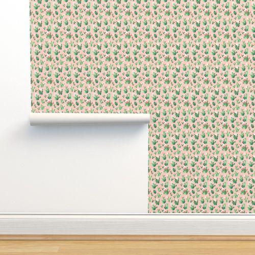 Melinda Copper Lace Bunny Print 9 x 12
