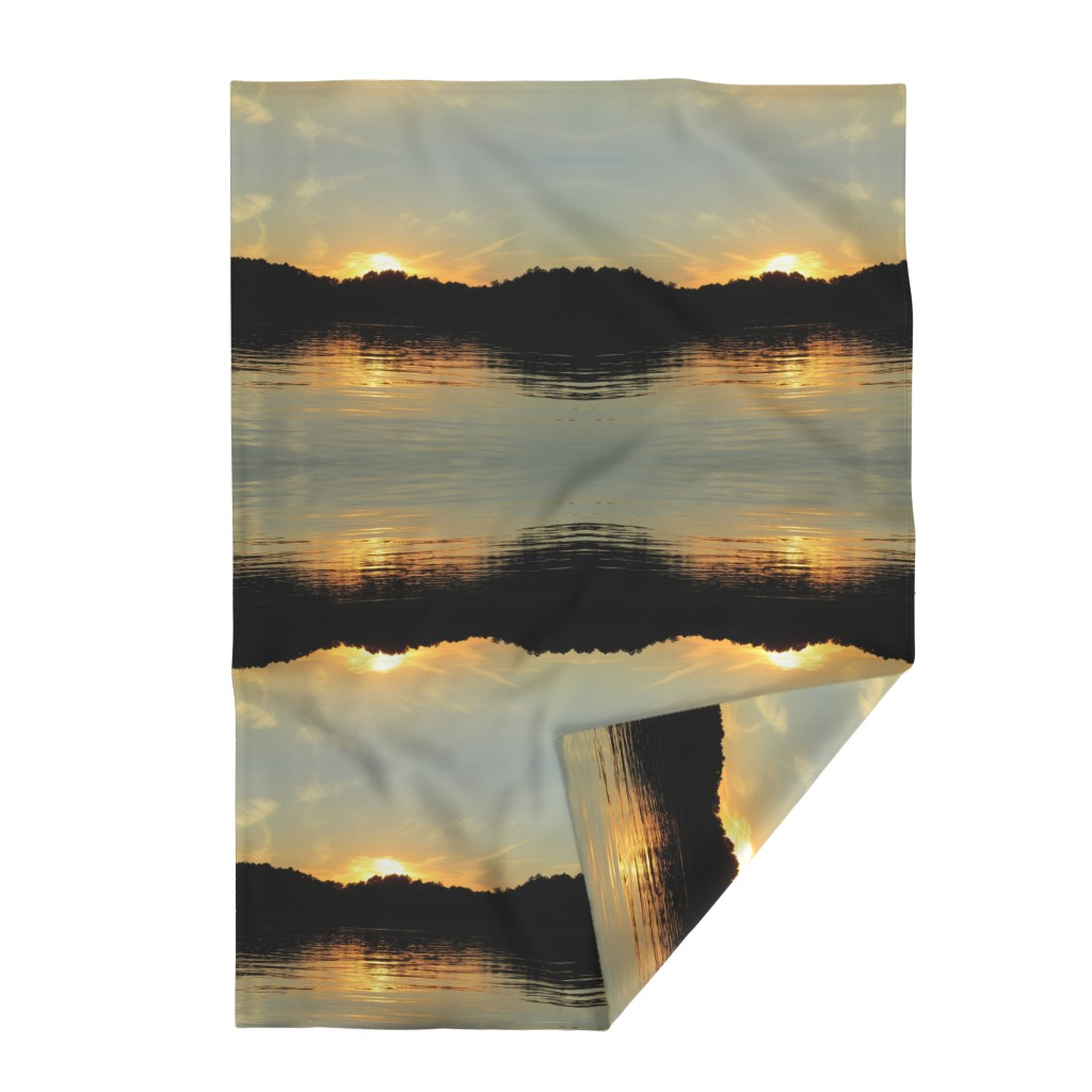 Lakenvelder Throw Blanket featuring Back Bay Sunrise by kittykittypurrs