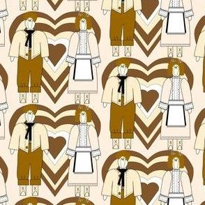 Baptist & Jael Primitive Fabric 3