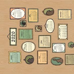 My Family Tree 2020 calendar