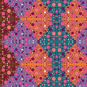 ZigzagDots-9 colors