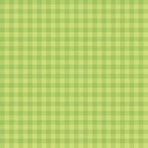 matcha green gingham