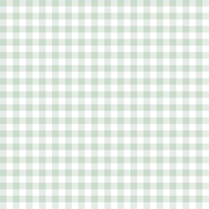 icy midwinter gingham