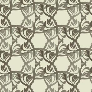 Floral Trellis - Mineral
