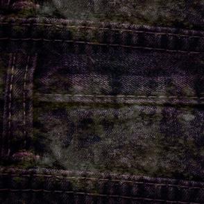 Denim Dreams: Violet_Grunge