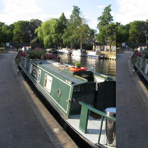 Lee River Narrow Boat