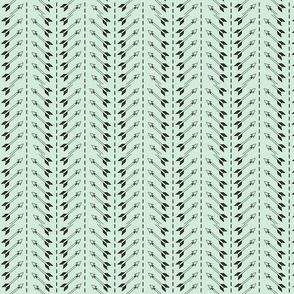arrow chevron- mint