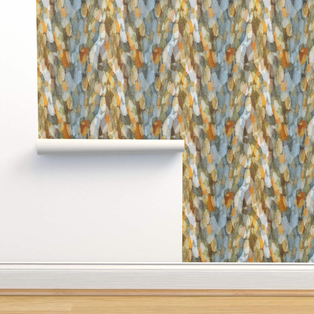 Isobar Durable Wallpaper featuring knitted sycamore by keweenawchris