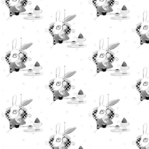 A 3 February 2011 - Year of the rabbit fabric by rupydetequila