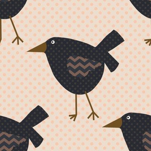 Primitive Crows and Polka Dots