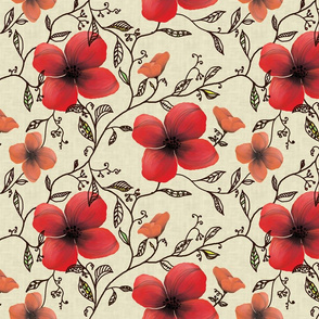 Stylized Floral-Colorway1