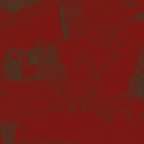 Dark_BrownToile_on_Red_repeat_