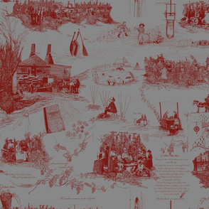 Red_Toile_on_Grey_repeat