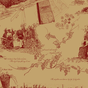 Red_Toile_on_Pale_Mustard_repeat