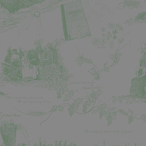 Dark_Green_Toile_on_Grey_repeat