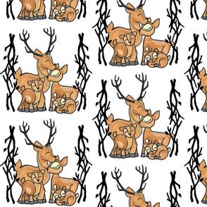my deer family