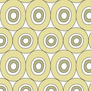 Dotts within dotts - green