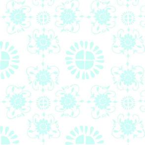 Floral_medaliions_aqua_blue