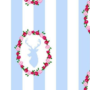Stag Wreath
