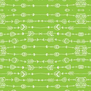green arrow doodle