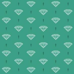 New Diamonds_green mint