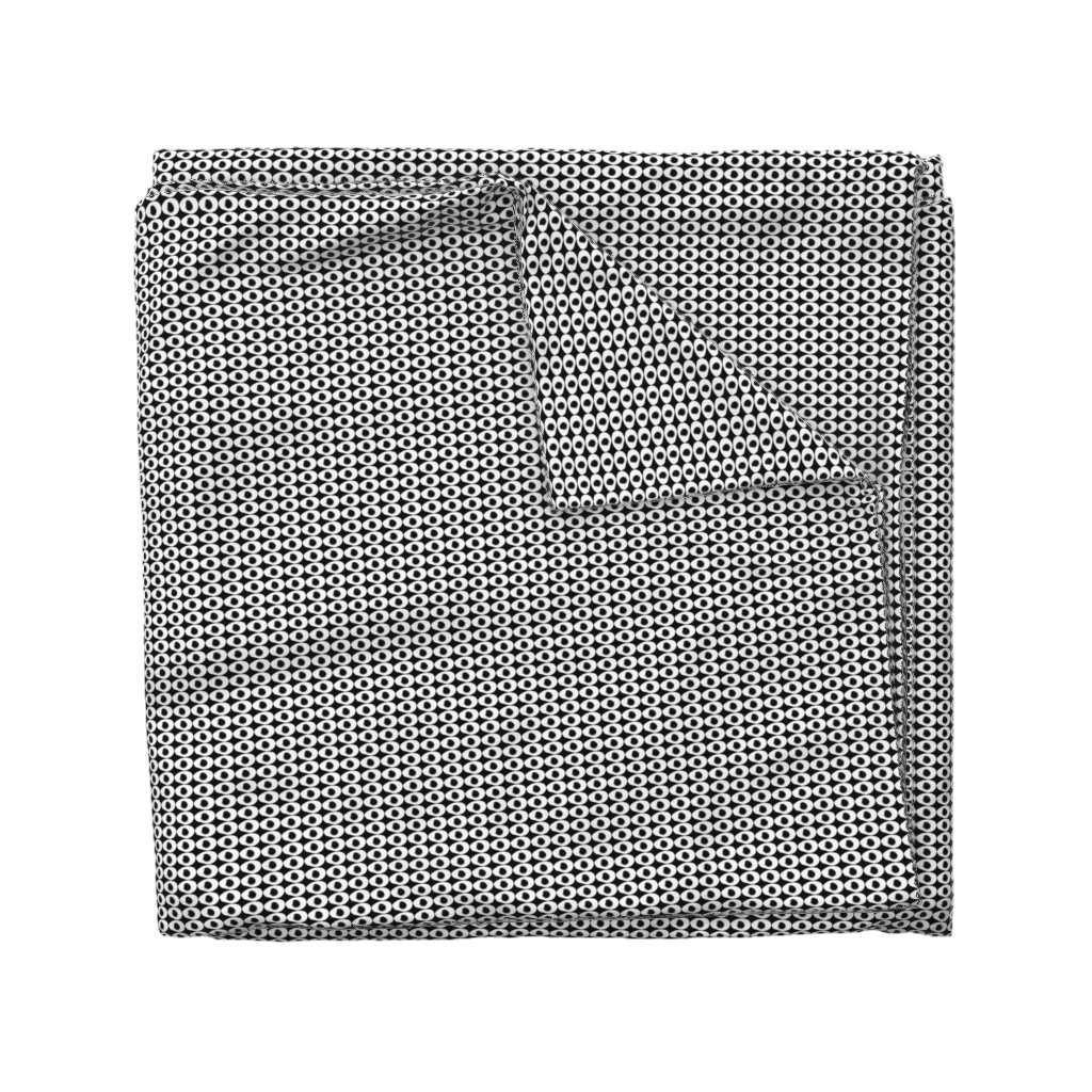 Wyandotte Duvet Cover featuring double dots by dearchickie
