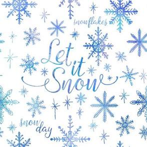 Let It Snow Winter Pattern