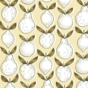leafy fruits - yellow