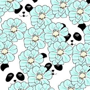 peekaboo panda mint - by MiaMea