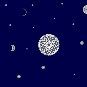 Lace Phases of the Moon (#2)