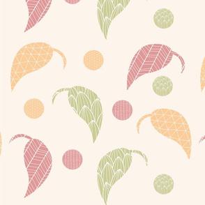 Ornamental leaf pattern 01