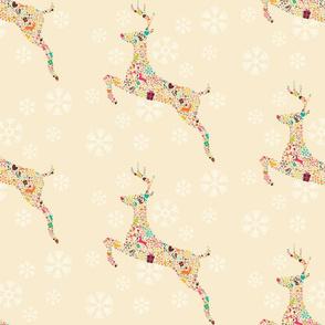 Ornamental Reindeer 01