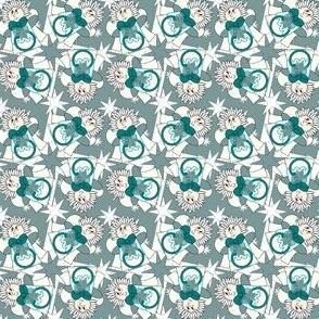 Angels Christmas Holiday Fabric 5