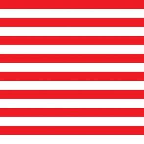 Danita's Red & White Stripe