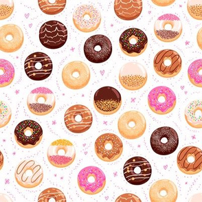 Donuts large scale