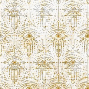 zodiac_eye_gold geometric