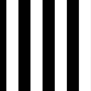 wide stripes black and white