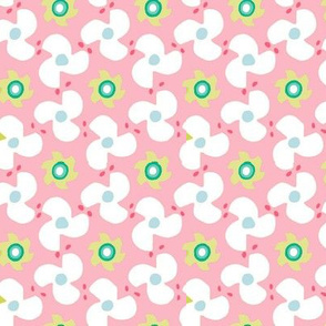 Propeller pink and green