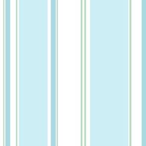 Signe Stripe aqua