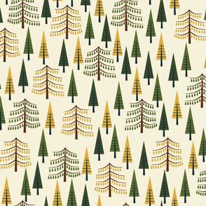 Tall Pines - Cream