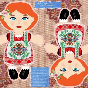 Abigail Cut and Sew Doll