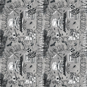 Post-Apocalyptic Toile, Rotated