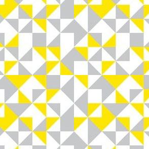 Geometric-pastel yellow