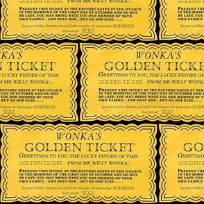 Dean's Golden Tickets on Black