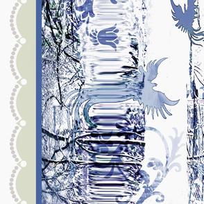 Delft blue Ice